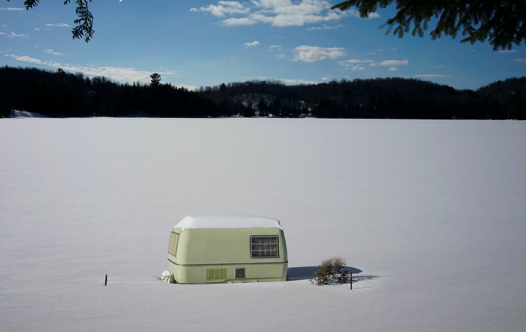 preparar la caravana para el invierno
