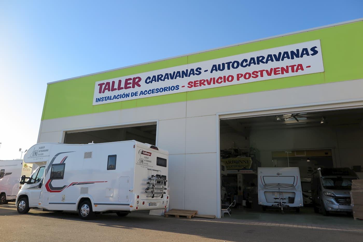taller de autocaravanas