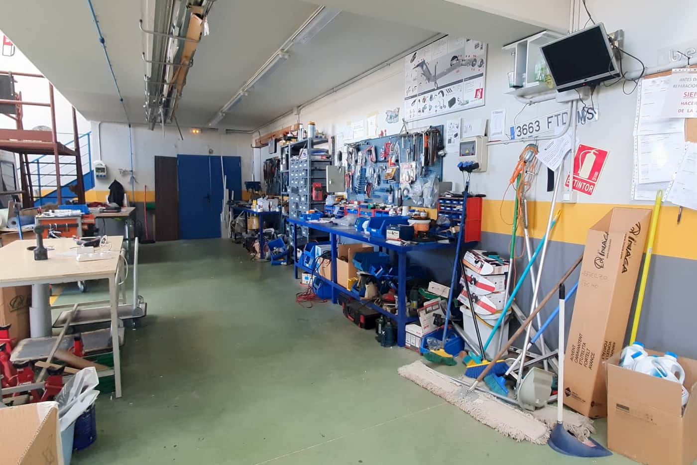 taller de caravanas