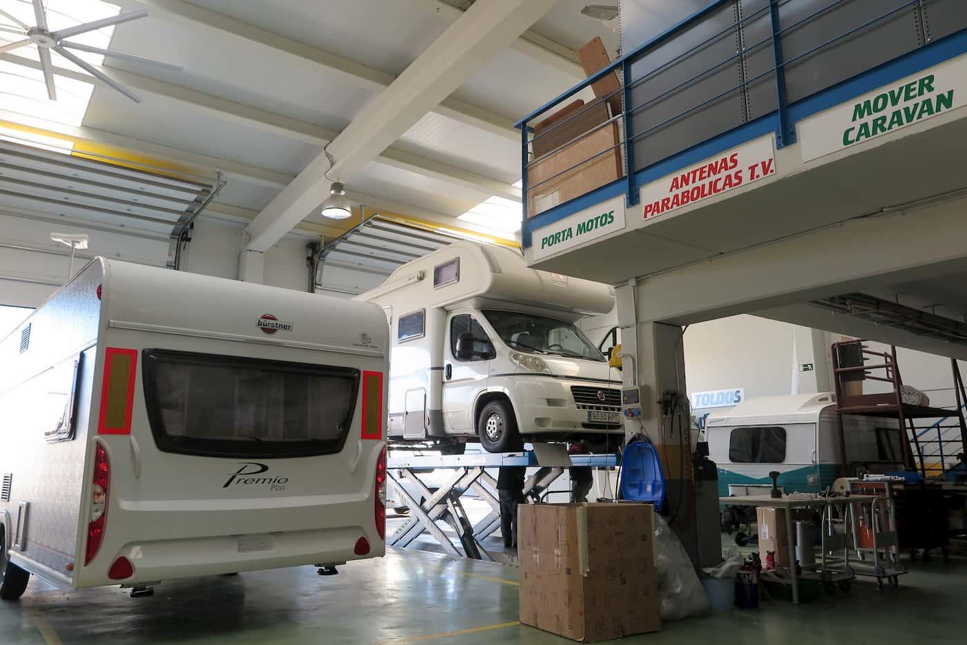 taller y reparacion de autocaravanas