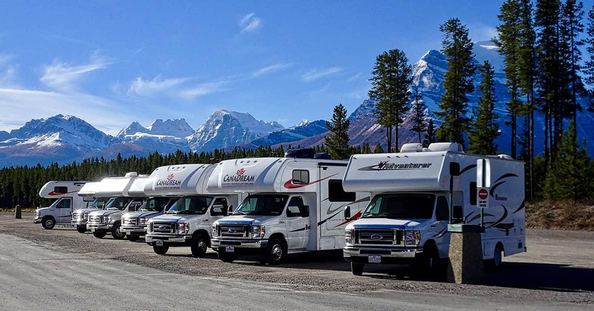 Imagen de una feria de caravanas