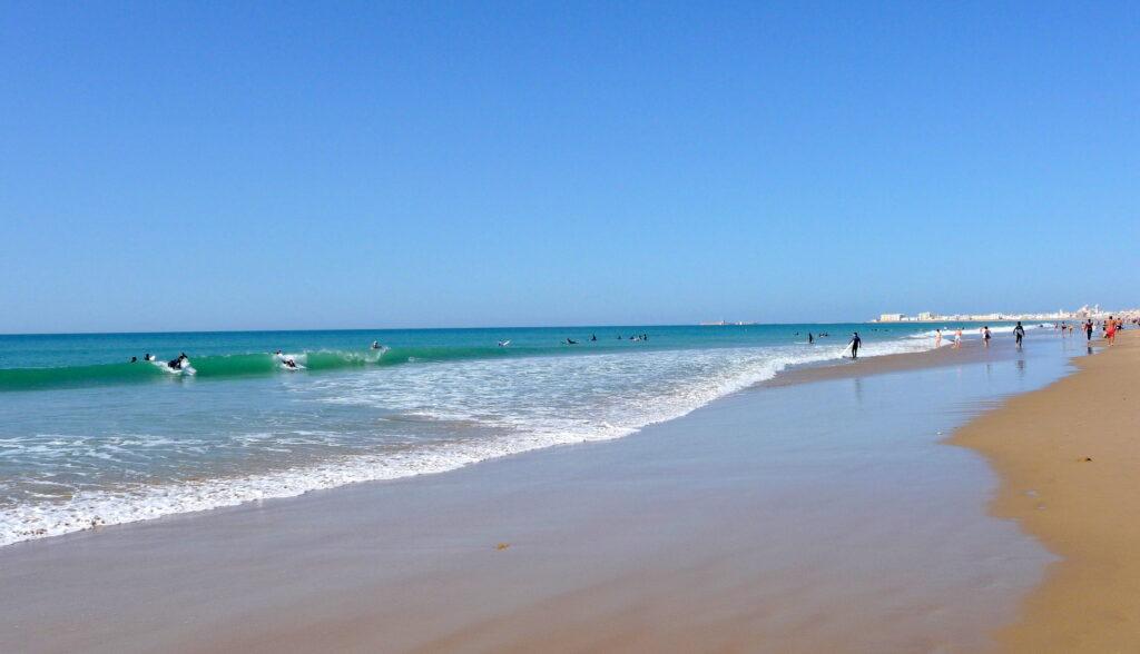 Áreas de autocaravanas en la playa Valencia